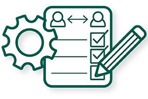 Peer Evaluation Icon