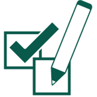 Peer Evaluation Surveys Icon